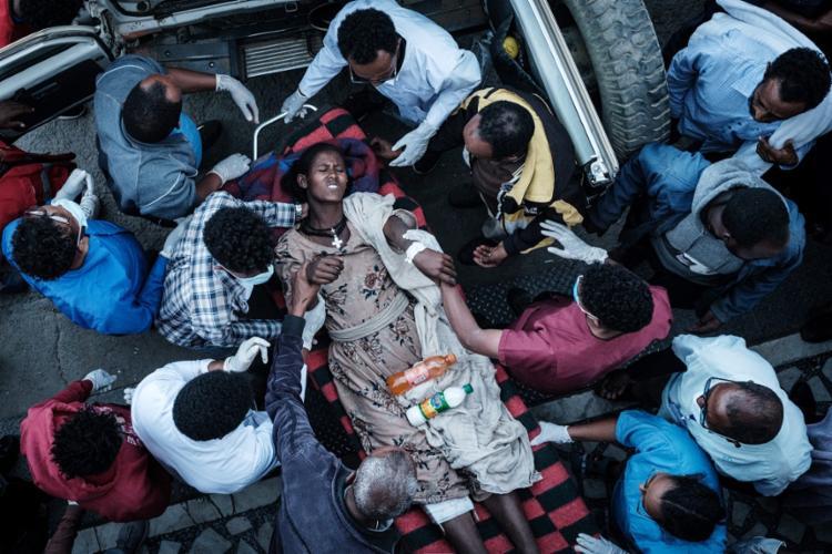 Operação foi do Exército local | Foto: Yasuyoshi Chiba | AFP - Foto: Yasuyoshi Chiba | AFP