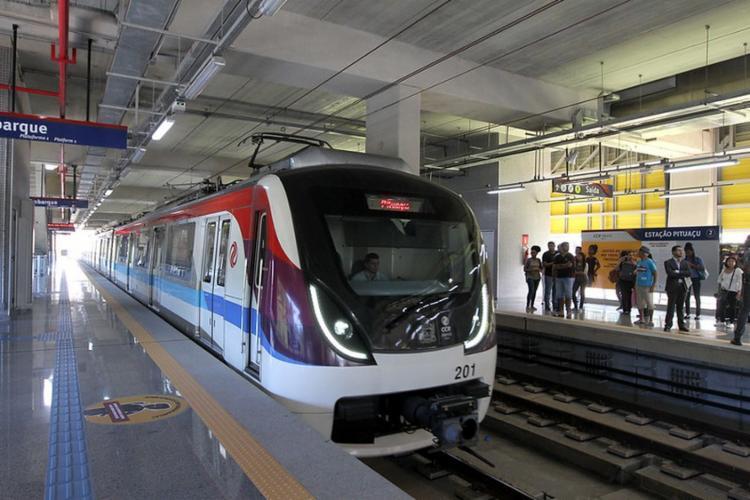 Metrô completa sete anos de operação   Foto: Camila Souza   GOVBA - Foto: Camila Souza   GOVBA