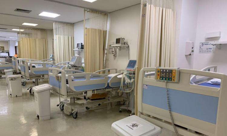 De acordo com publicação no Diário Oficial, 186 leitos clínicos e outros 125 de UTI serão desmobilizados | Foto: Divulgação/Comunicação HUB - Foto: Divulgação | Comunicação HUB