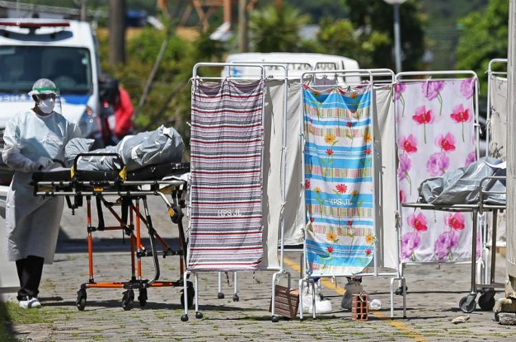 Número de pessoas recuperadas totalizou 15.408.401   Foto: Michael Dantas   AFP - Foto: Michael Dantas   AFP