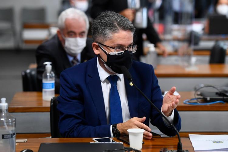 Alessandro Vieira diz novas denúncias são graves   Foto: Marcos Oliveira   Agência Senado - Foto: Marcos Oliveira   Agência Senado