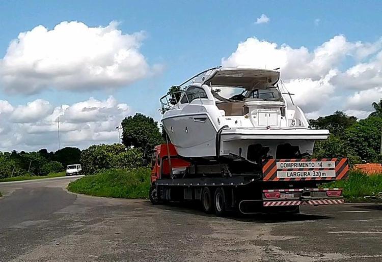 Transporte de cargas superdimensionadas exige autorização especial   Foto: Divulgação   PRF - Foto: Divulgação   PRF
