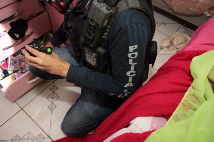 Ela estava escondida em uma casa na cidade de Prado   Foto: Haeckel Dias   Ascom PC - Foto: Haeckel Dias   Ascom PC