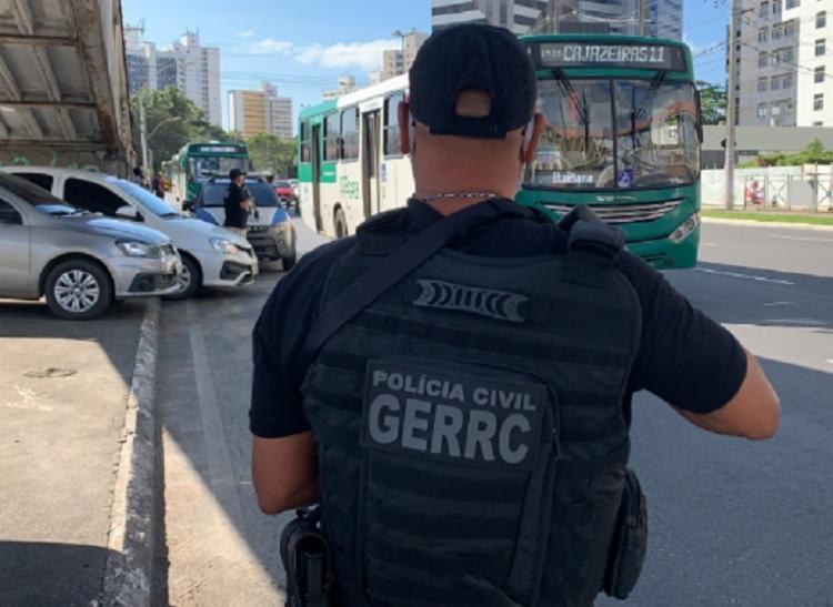 Salvador segue sofrendo com os ataques aos coletivos | Foto: Divulgação | Polícia Civil - Foto: Divulgação | Polícia Civil