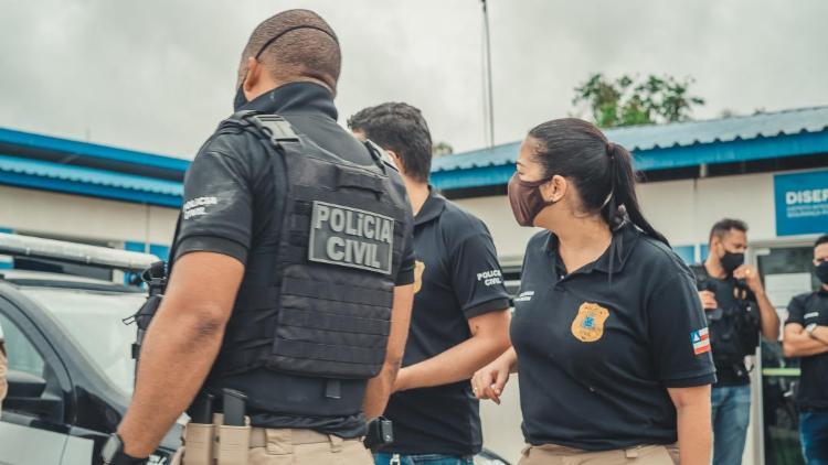Ação conjunta cumpriu mandados de busca e prisão em Alagoinhas   Foto: Divulgação   Ascom   PC-BA - Foto: Divulgação   Ascom   PC-BA