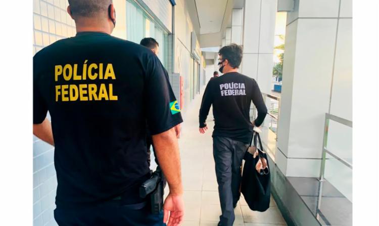 Operação da Polícia Federal mirou o governador do Amazonas, Wilson Lima (PSC) - Foto: Divulgação