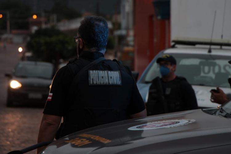 Operação visou a diminuição no número de crimes violentos e no tráfico de drogas na região - Foto: Divulgação: SSP