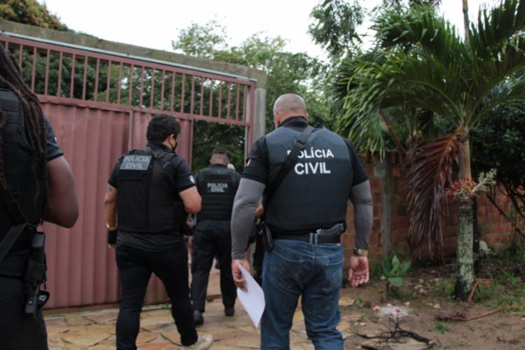 Operação cumpriu mandados de prisão e busca e apreensão | Foto: Haeckel Dias | Ascom-PC - Foto: Haeckel Dias | Ascom-PC
