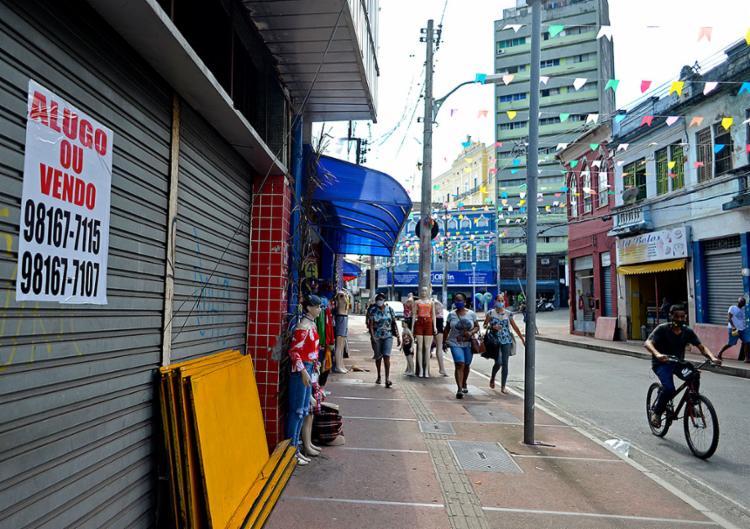 Pandemia afetou mais os micro e pequenos negócios   Foto: Shirley Stolze   Ag. A TARDE - Foto: Shirley Stolze   Ag. A TARDE