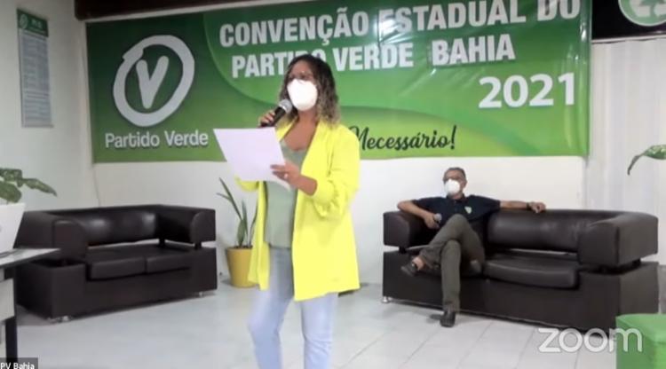 Convenção do partido foi realizada de forma online neste sábado, 26 - Foto: Reprodução: Youtube