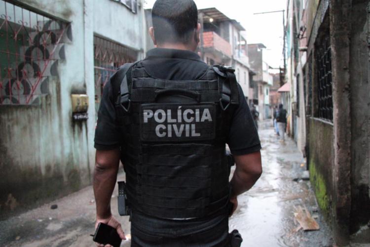 Operação Aerarium envolve equipes de quatro Departamentos e da Coordenação de Operações Especiais (COE) da Polícia Judiciária baiana | Foto: Haeckel Dias | Polícia Civil - Foto: Haeckel Dias | Polícia Civil