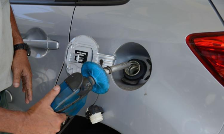 Gasolina nos postos de combustível - Foto: Tomaz Silva I Agência Brasil