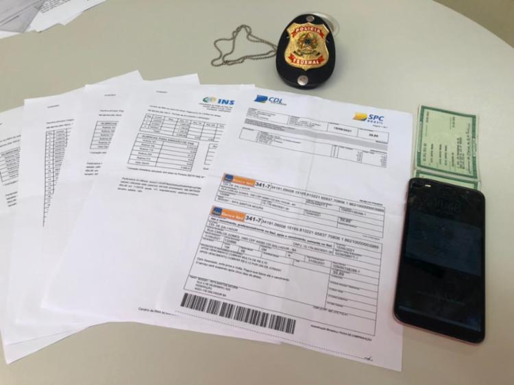 Suspeitos atuavam no recrutamento de idosos para funcionarem como dublês   Foto: Divulgação   PF - Foto: Divulgação   PF