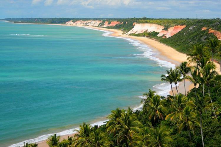 Praia de Pitinga, em Porto Seguro - Foto: Divulgação
