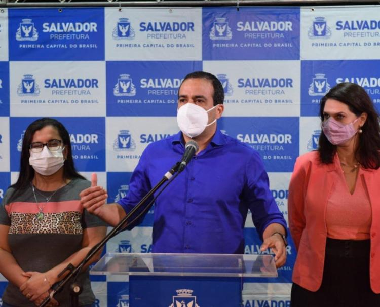Prefeito afirmou que pretende retomar eventos de entretenimento em agosto | Foto: Valter Pontes | Divulgação - Foto: Valter Pontes | Divulgação