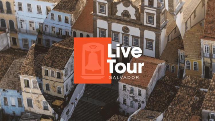 As lives serão transmitidas através do perfil do Facebook, Instagram e YouTube do Visit Salvador da Bahia   Foto: Divulgação - Foto: Divulgação