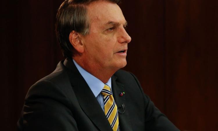 Presidente Bolsonaro em pronunciamento na TV - Foto: Reprodução