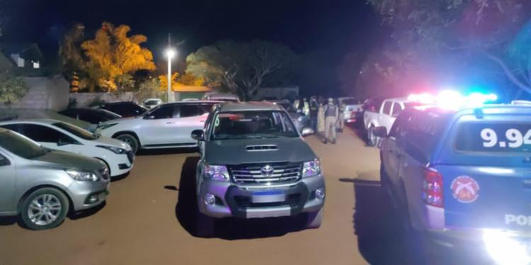 O evento possuía aproximadamente 100 pessoas e contava com 36 veículos no local | Foto: Divulgação | SSP-BA - Foto: Divulgação | SSP-BA