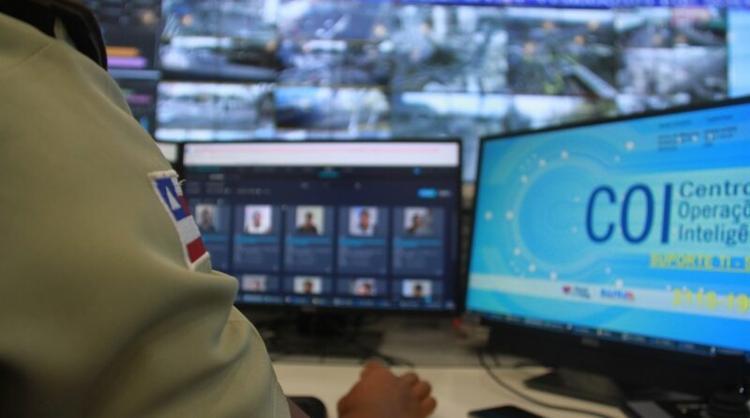Homem passava por uma das áreas monitoradas e foi descoberto após apresentar 95% de similaridade - Foto: Divulgação | SSP