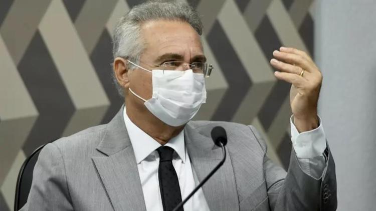 Renan apresentou uma lista de investigados, incluindo o ministro da Saúde, Marcelo Queiroga   Foto: Jefferson Rudy   Agência Senado - Foto: Jefferson Rudy   Agência Senado