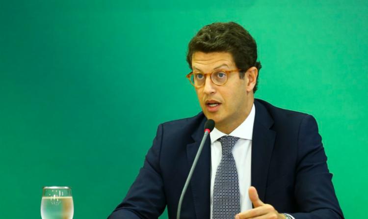 Ministro do Meio Ambiente, Ricardo Salles - Foto: Marcelo Camargo I Agência Brasil