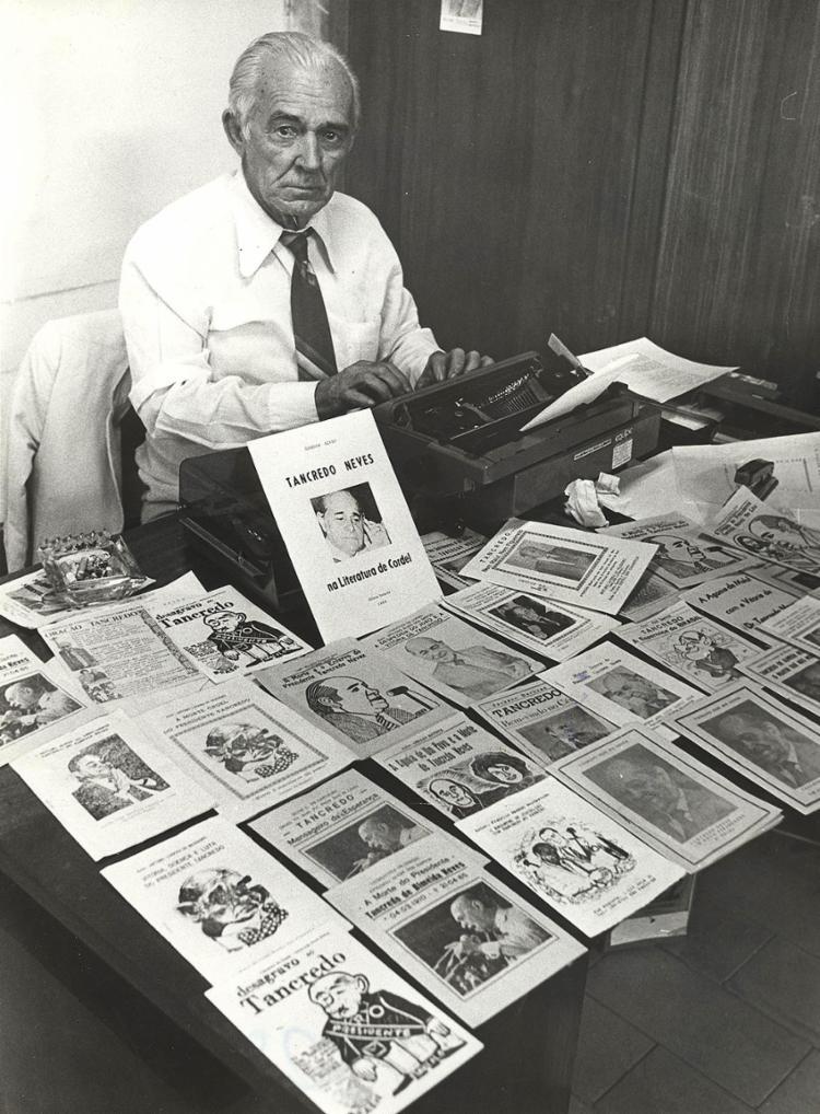O poeta Rodolfo Cavalcante foi autor de mais de mil títulos   Foto: Arquivo A TARDE   17.6.1985 - Foto: Arquivo A TARDE   17.6.1985