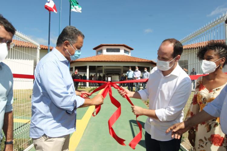 Em vista a Amargosa, o governador ressaltou necessidade das medidas de prevenção para evitar um novo surto   Foto: Fernando Vivas   Gov-BA - Foto: Fernando Vivas   Gov-BA