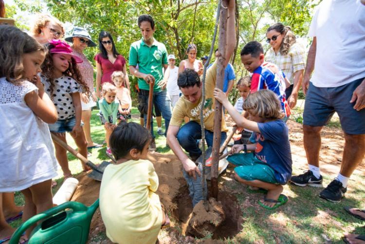 Ação é realizada neste sábado, 5, Dia Mundial do Meio Ambiente | Foto: Marcelo Gandra | Divulgação - Foto: Marcelo Gandra | Divulgação