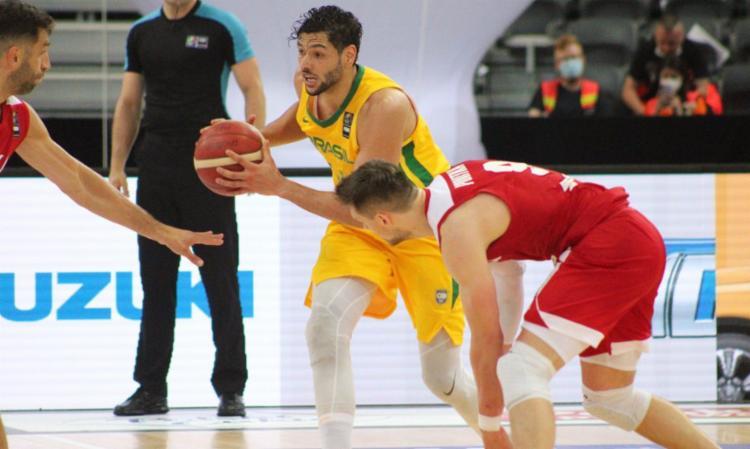 Foi o teste derradeiro antes da estreia no Pré-Olímpico na terça-feira, 29 | Foto: Reprodução Twitter | Basquete Brasil - Foto: Reprodução Twitter | Basquete Brasil