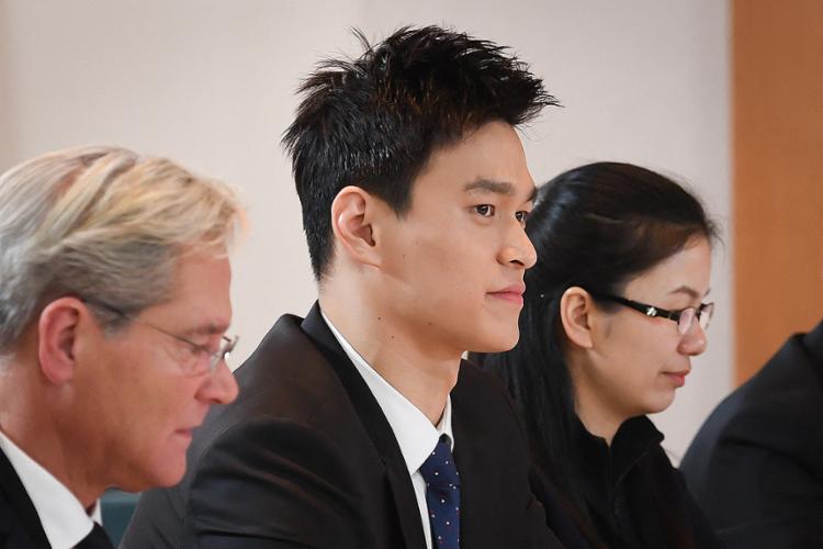 Sun Yang possui três medalhas de ouro olímpicas, duas em Londres-2012 (400m e 1500m estilo livre) e uma em Londres-2016 (200m), além de onze títulos mundiais   Foto: Jean-Guy Python   AFP - Foto: Jean-Guy Python   AFP