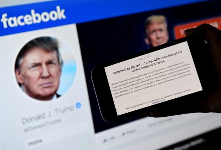 Proibição entrará em vigor a partir de 7 de janeiro, quando Trump foi retirado da plataforma | Foto: Olivier Douliery | AFP - Foto: Olivier Douliery | AFP