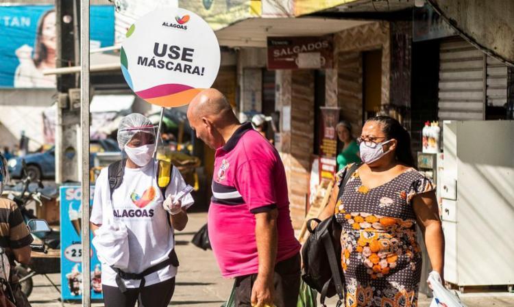 O país, de 212 milhões de habitantes, é o segundo a superar 500 mil mortos, depois dos Estados Unidos, e enfrenta desde janeiro a segunda onda da pandemia   Foto: Jonathan Lins   Agência Alagoas - Foto: Jonathan Lins   Agência Alagoas