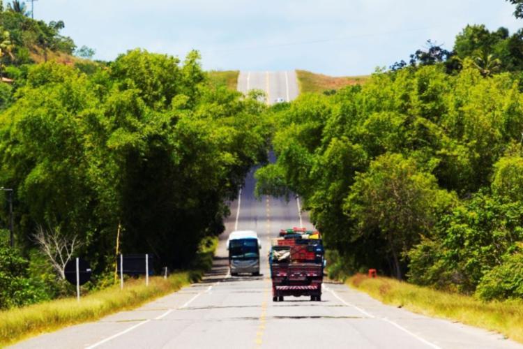 Aumento no fluxo de veículos é em razão do feriado de Corpus Christi | Foto: Divulgação | CLN - Foto: Divulgação | CLN