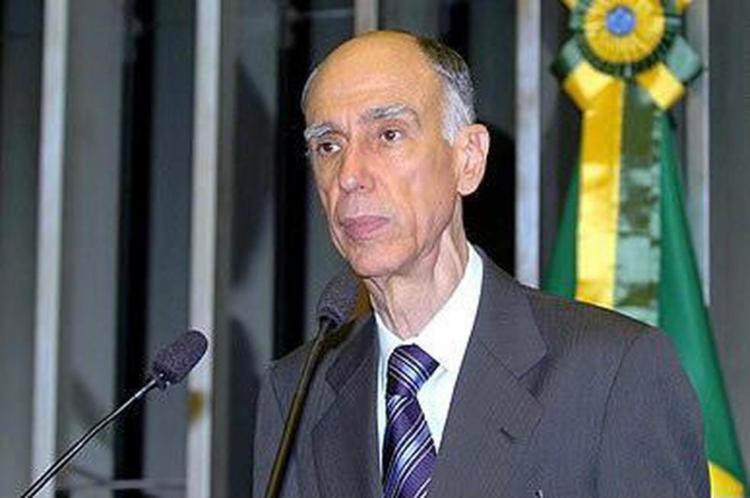 Maciel foi vice-presidente da República nos dois mandatos de FHC   Foto: Reprodução   Agência Senado - Foto: Reprodução   Agência Senado