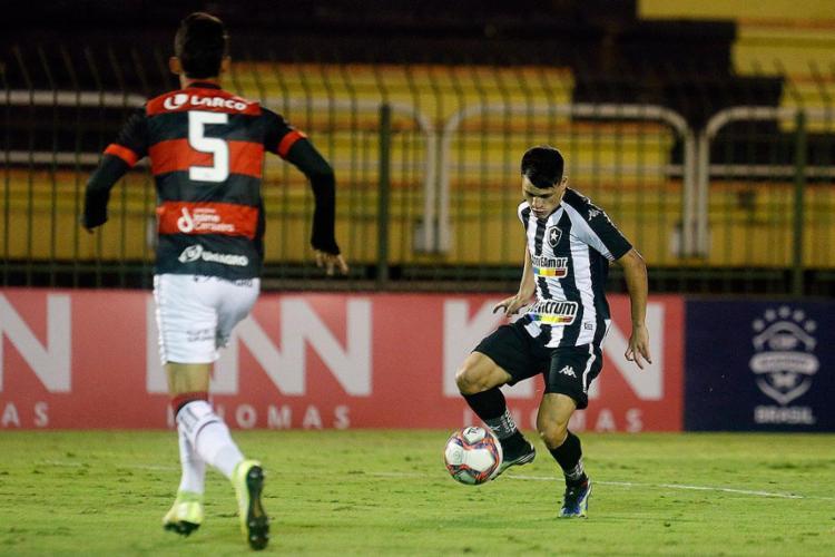 O revés no estádio Raulino de Oliveira complicou a situação do Rubro-Negro na tabela | Foto: Vítor Silva | BFR - Foto: Vítor Silva | BFR