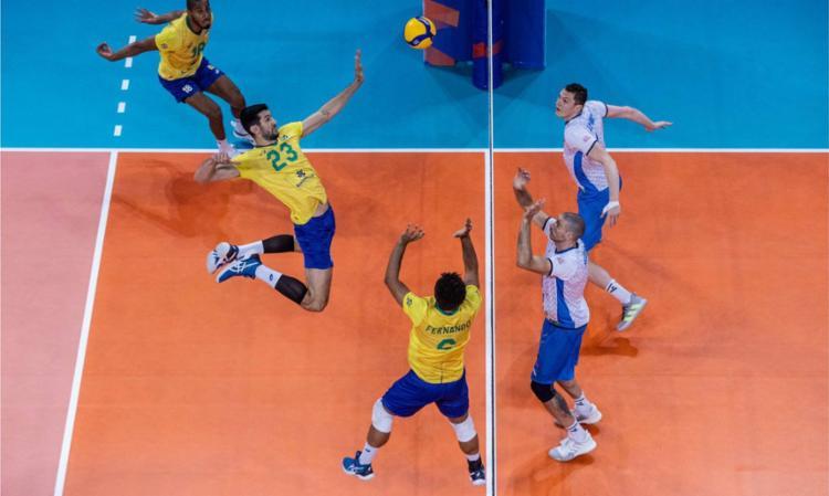 Seleção alcança sexto triunfo consecutivo na competição | Foto: Divulgação | FIVB - Foto: Divulgação | FIVB