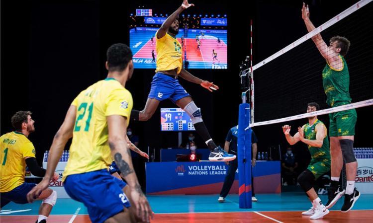 Maurício Borges e Isac comandam vitória; Brasil na liderança | Foto: Divulgação | FIVB - Foto: Divulgação | FIVB