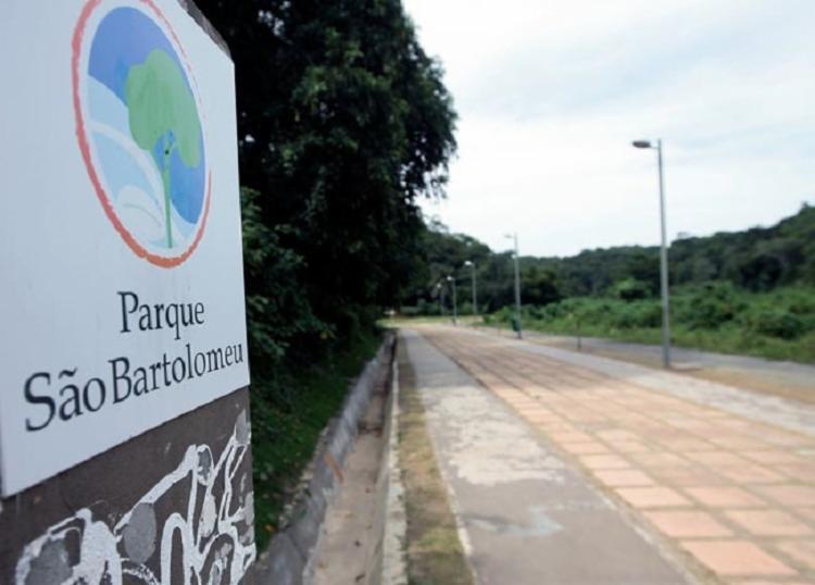 Corpo de Wallace Souza foi encontrado em um córrego no Parque São Bartolomeu | Foto: Divulgação - Foto: Divulgação