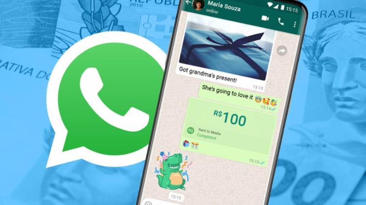 Para usar o WhatsApp Pay é necessário cadastrar um cartão de débito ou cartão múltiplo com a função de débito   Foto: Divulgação - Foto: Divulgação