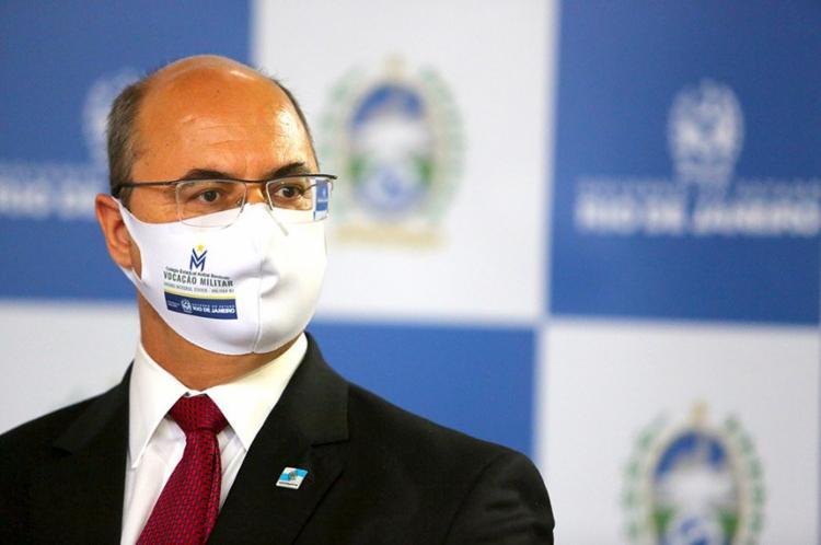 Denuncias apontam que o ex-governador se beneficiou de um esquema de corrupção no início da pandemia| Foto: Philippe Lima | GOVRJ - Foto: Philippe Lima | GOVRJ