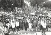 Centenário da libertação ganhou cobertura especial durante 10 dias | Foto: Arquivo A TARDE | 2.7.96