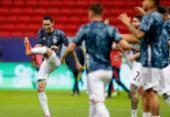 Di María e Agüero: os jogadores experientes da Argentina não se rendem | Foto: