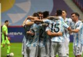 Argentina vence Colômbia nos pênaltis e faz final com o Brasil | Foto: Nelson Almeida | AFP