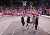 EUA e Letônia, primeiros campeões olímpicos da história do basquete 3x3 | Foto: Stephen Gosling | Getty Images via AFP