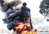 Suspeito de participação em incêndio da estátua de Borba Gato é preso em São Paulo | Foto: Reprodução / Twitter