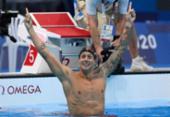 Natação: americano Caeleb Dressel é ouro nos 100m livre com recorde olímpico | Foto: Attila Kisbenedek | AFP