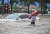 Chuva mais forte dos últimos mil anos na China deixa ao menos 25 mortos | Foto: AFP