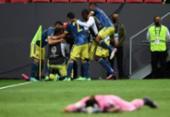 Colômbia vence Peru e termina em terceiro lugar na Copa América | Foto: Evaristo Sá | AFP