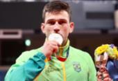 Daniel Cargnin conquista o bronze na categoria até 66 kg do judô | Foto: Gaspar Nobrega / COB
