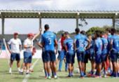 Bahia realiza último treino em Salvador antes de encarar o Atlético-MG | Foto: Felipe Oliveira | EC Bahia